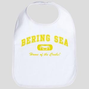 Bering Sea Home of the Crabs! Yellow Bib