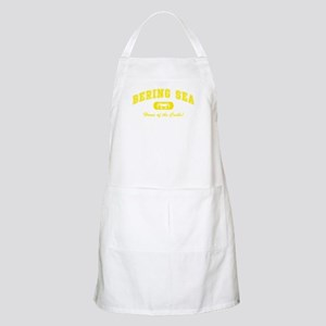 Bering Sea Home of the Crabs! Yellow BBQ Apron