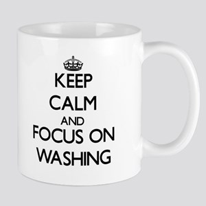 Keep Calm by focusing on Washing Mugs