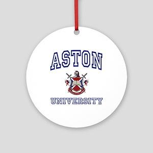 ASTON University Ornament (Round)