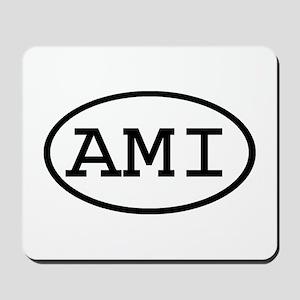AMI Oval Mousepad