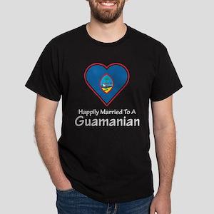 Happily Married Guamanian Dark T-Shirt