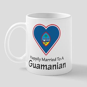 Happily Married Guamanian Mug