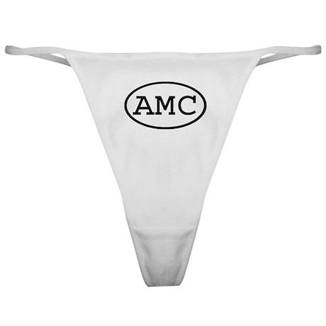 AMC Oval Classic Thong
