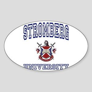 STROMBERG University Oval Sticker
