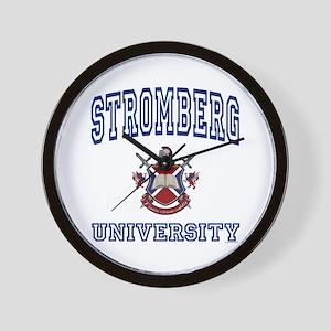 STROMBERG University Wall Clock