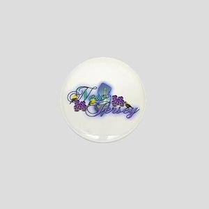 New Jersey Mini Button