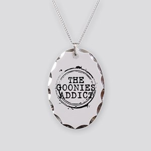The Goonies Addict Stamp Necklace Oval Charm