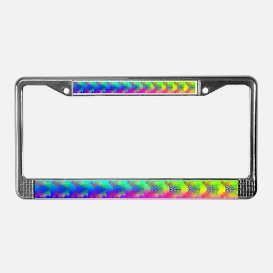 GLBT FROG #2 - License Plate Frame