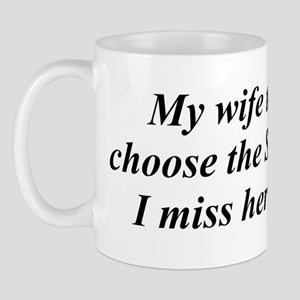 Wife or Sheltie Mug