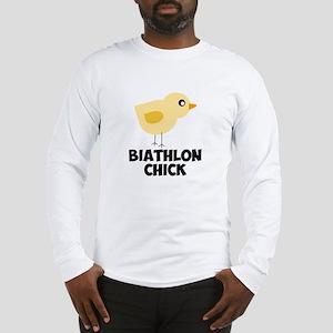 Biathlon Chick Long Sleeve T-Shirt