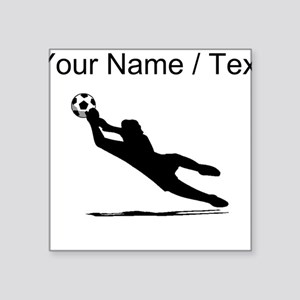 c1bb435b059 Custom Soccer Goalie Silhouette Sticker