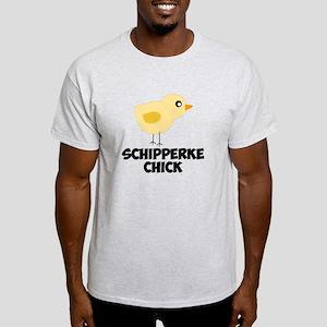 Schipperke Chick T-Shirt