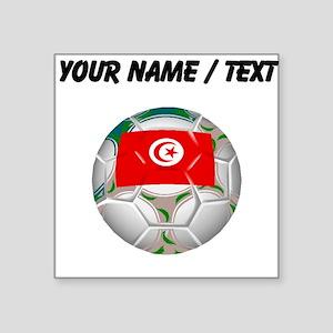 Custom Tunisia Soccer Ball Sticker