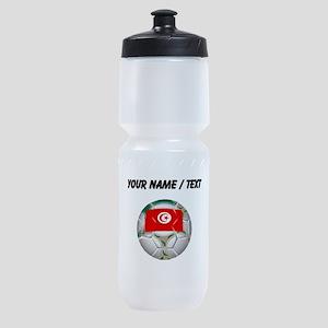 Custom Tunisia Soccer Ball Sports Bottle
