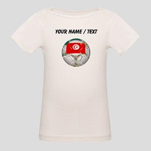 Custom Tunisia Soccer Ball T-Shirt