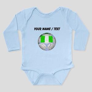 Custom Nigeria Soccer Ball Body Suit