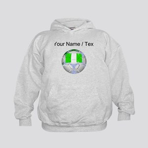 Custom Nigeria Soccer Ball Hoodie