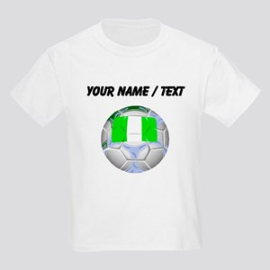 Custom Nigeria Soccer Ball T-Shirt