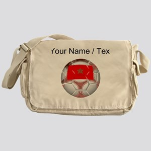 Custom Morocco Soccer Ball Messenger Bag