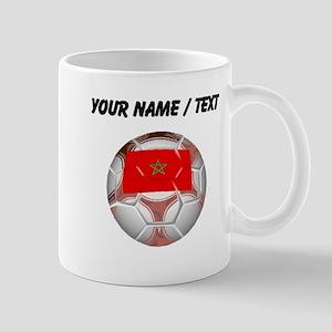 Custom Morocco Soccer Ball Mugs