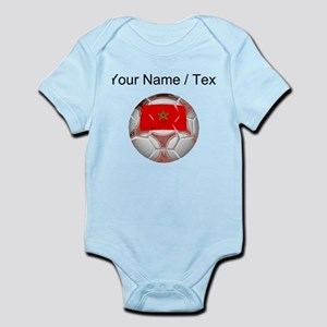 Custom Morocco Soccer Ball Body Suit