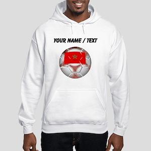 Custom Morocco Soccer Ball Hoodie