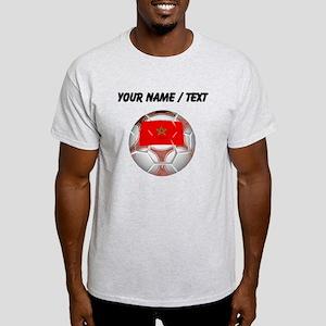 Custom Morocco Soccer Ball T-Shirt