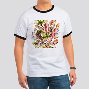 Botanical Hand Drawn Pitcher Plants T-Shirt