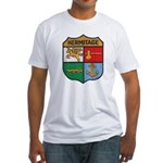 USS HERMITAGE Fitted T-Shirt