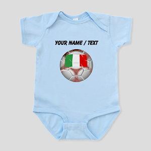 Custom Italy Soccer Ball Body Suit