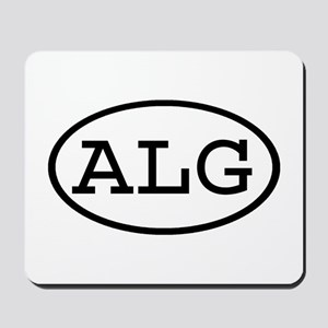 ALG Oval Mousepad