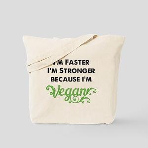 Stronger Vegan Tote Bag