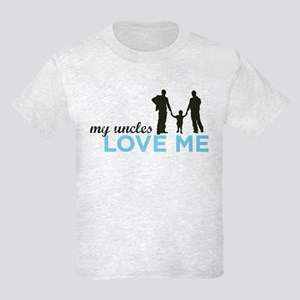 MY Uncles Love Me Kids Light T-Shirt