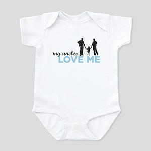 MY Uncles Love Me Infant Bodysuit