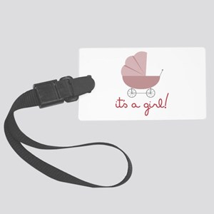Its A Girl Luggage Tag