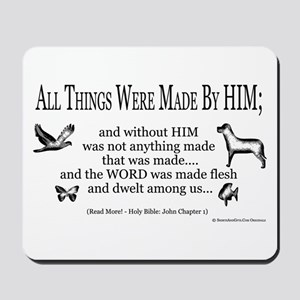 Christian Scripture Mousepad
