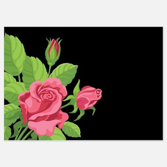 Night Rose- Invitations Invitations