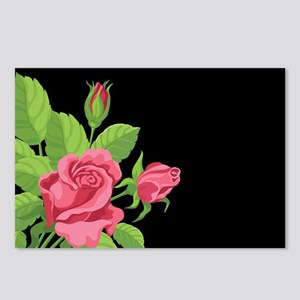 Night Rose- Postcards (package Of 8)