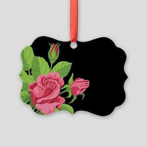 Night Rose- Picture Ornament