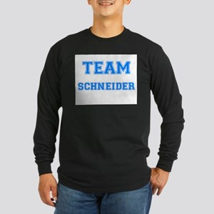 TEAM SCHNEIDER Long Sleeve Dark T-Shirt