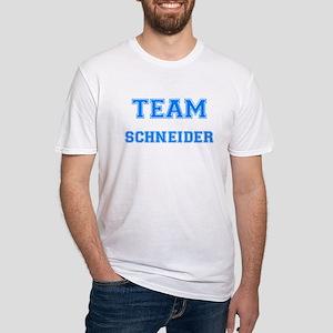 TEAM SCHNEIDER Fitted T-Shirt