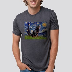 Starry Night Rottweiler T-Shirt