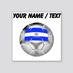 Custom Argentina Soccer Ball Sticker