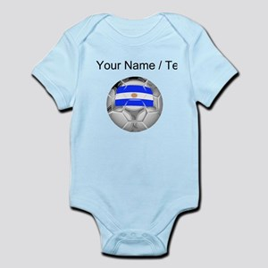 Custom Argentina Soccer Ball Body Suit