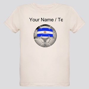 Custom Argentina Soccer Ball T-Shirt