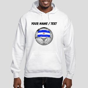 Custom Argentina Soccer Ball Hoodie
