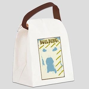 AAT BUILDS: Canvas Lunch Bag