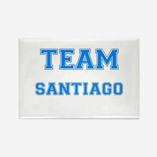 TEAM SANTIAGO Rectangle Magnet