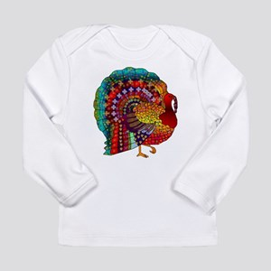 Thanksgiving Jeweled Turkey Long Sleeve T-Shirt